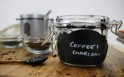 DIY Activated Charcoal and Coffee Scrub for Dry Skin