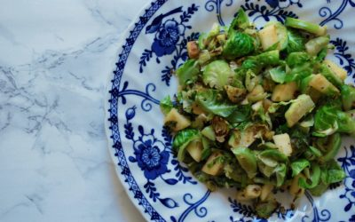 Essential Fall Recipes: Sautéed Brussels Sprouts with Apples